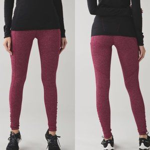 Lululemon Red Speed Tight IV Rulu Legging